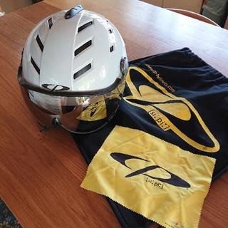 エバニュー(EVERNEW)のCPスキーヘルメットバイザー付き(その他)