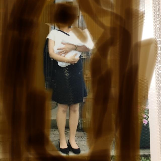 ベルメゾン(ベルメゾン)の授乳口付き ワンピース マタニティードレス  キッズ/ベビー/マタニティのマタニティ(マタニティワンピース)の商品写真