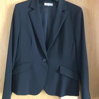 シマムラ(しまむら)の新品 15号 黒スーツ3点セット(スーツ)