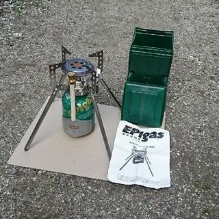 イーピーアイガス(EPIgas)のEPIgasストーブとパワーチャージャーのセット(ストーブ/コンロ)