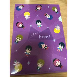 Free! クリアファイル SPLASH FREE(ED) 紫 派手な私服(クリアファイル)