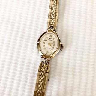 ウォルサム(Waltham)のWaltham ウォルサム 17石 ビンテージ 手巻き腕時計 SWISS製 稼動(腕時計)