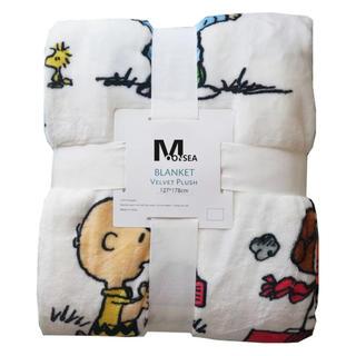 スヌーピー  仲間たち ブランケット毛布(毛布)