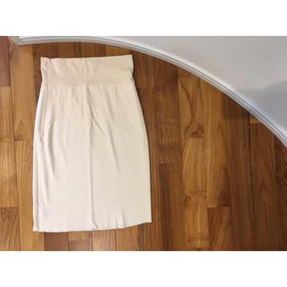 アメリカンアパレル(American Apparel)のAmerican apparel アメリカンアパレル スカート ベージュ S(ひざ丈スカート)