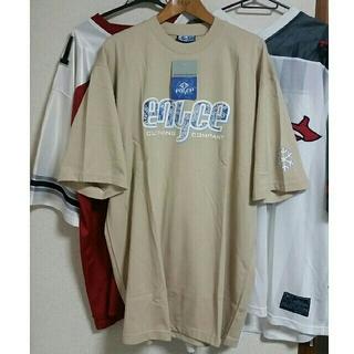 エニーチェ(ENYCE)の[新品、レア物] ENYCE ベージュ Tシャツ TEE HIP HOP RAP(Tシャツ/カットソー(半袖/袖なし))