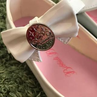 ディズニー(Disney)の美品★ビビディバビディブティック 19.0センチ シンデレラ 靴(フォーマルシューズ)