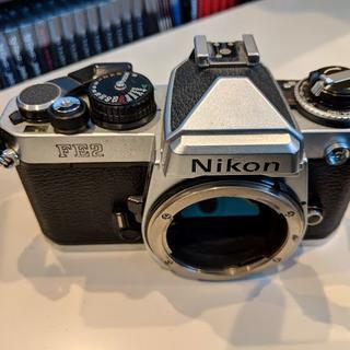 ニコン(Nikon)のニコン NIKON FE2 シルバー 35mmカメラ ボディー(フィルムカメラ)