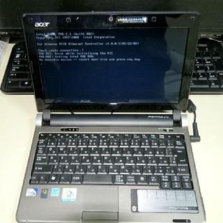 エイサー(Acer)のACERノートパソコン  ジャンク(ノートPC)