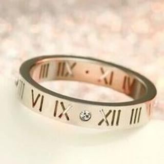 ローマ数字 リング シルバー (リング(指輪))