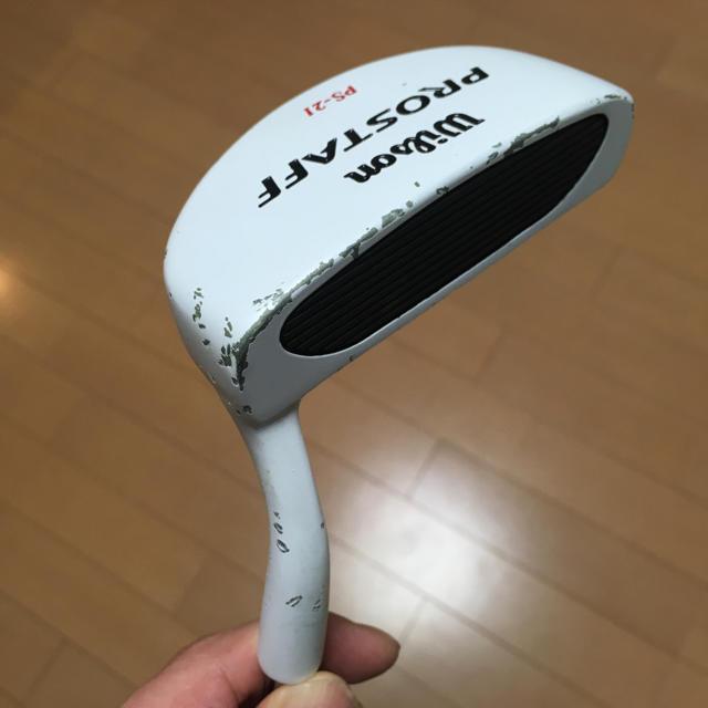 wilson(ウィルソン)のウィルソン パター PROSTAFF PS-21 34.0インチ スポーツ/アウトドアのゴルフ(その他)の商品写真