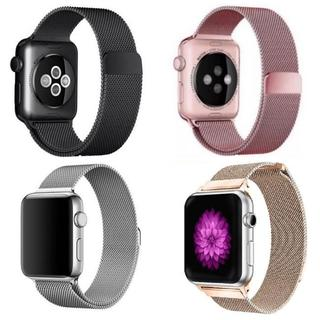 apple watch ミラネーゼループバンド(金属ベルト)