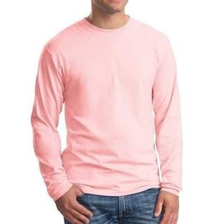 ヘインズ(Hanes)のHanes Beefy Tシャツ メンズMサイズ ピンク(Tシャツ/カットソー(七分/長袖))