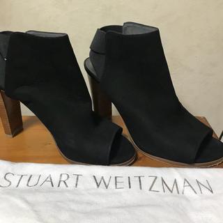 スチュワートワイツマン(Stuart Weitzman)のStuart Weitzman オープントゥ ショートブーツ(ブーツ)