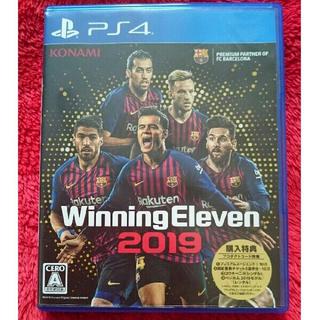 プレイステーション4(PlayStation4)のps4 ウイニングイレブン2019(野球/サッカーゲーム)
