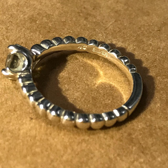 4℃(ヨンドシー)の4°C シルバーリング レディースのアクセサリー(リング(指輪))の商品写真