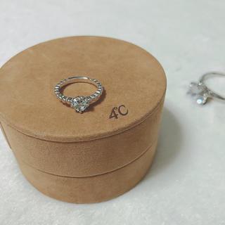 ヨンドシー(4℃)の4°C シルバーリング(リング(指輪))