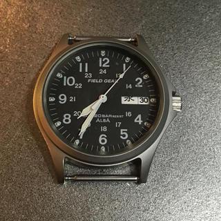 アルバ(ALBA)のSEIKO ALBA FIELD GEAR V743-8000(腕時計(アナログ))
