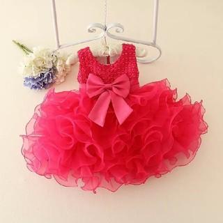 ベビードレス 子供ドレス キッズドレス 結婚式 お誕生日 バブル層 パニエ不要(セレモニードレス/スーツ)