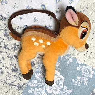 ディズニー(Disney)の子鹿のバンビぬいぐるみポーチ(ポーチ)