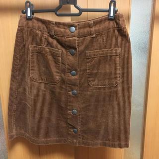 ローリーズファーム(LOWRYS FARM)のLOWRYSFARMローリーズファーム コーデュロイスカート ブラウン(ミニスカート)