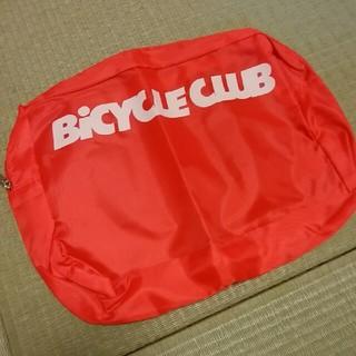 【新品未使用】大容量ハンドルポーチ バイシクルクラブ2015年9月号付録(バッグ)