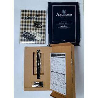 アクアスキュータム(AQUA SCUTUM)のアクアスキュータム 万年筆とノートのセット 新品・未使用(ペン/マーカー)