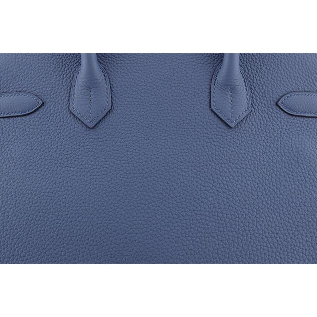 Hermes(エルメス)の新品 エルメス HERMES バーキン30 トゴ ブルーサフィール シルバー金具 レディースのバッグ(ハンドバッグ)の商品写真