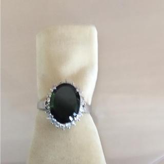 グリーンのトルマリン指輪(リング(指輪))