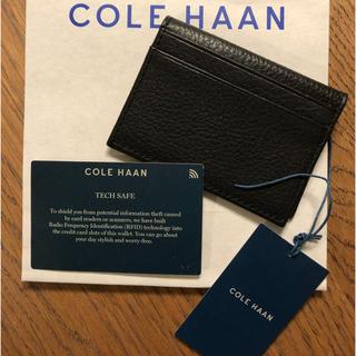 コールハーン(Cole Haan)のCOLE HAAN コールハーン カードケース 新品(名刺入れ/定期入れ)