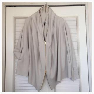 ダブルスタンダードクロージング(DOUBLE STANDARD CLOTHING)のドルマンパーカー◎ダブルジップジャケット(パーカー)