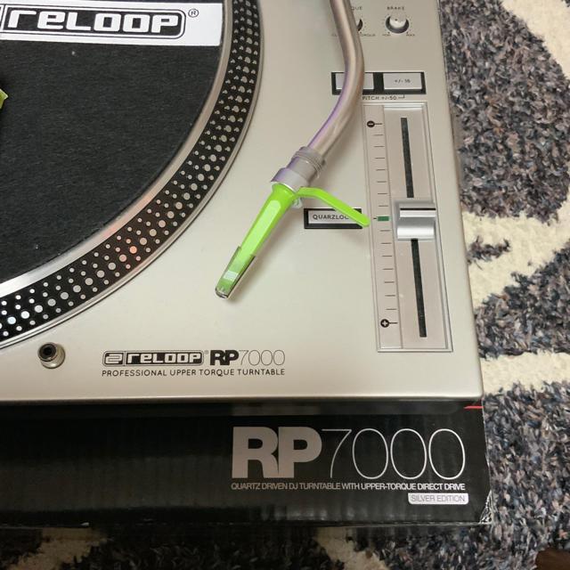reloop  ターンテーブル RP7000 針付き 楽器のDJ機器(ターンテーブル)の商品写真