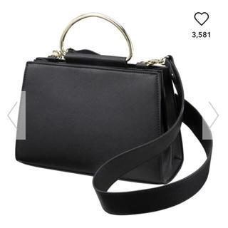 ジーユー(GU)のGU メタルショルダーハンドルバッグ 未使用(ハンドバッグ)