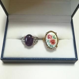 フラワー(flower)の【vintage】まとめ売り 指輪(リング(指輪))