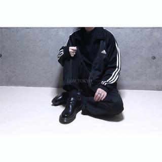 [used]'adidas' XL black ×white jacket.(ジャージ)