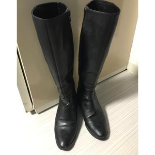 オデットエオディール(Odette e Odile)のポコリン様 専用 Odette e Odile ロングブーツ ブラック 23cm(ブーツ)