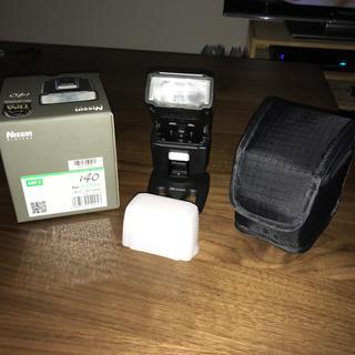 フジフイルム(富士フイルム)の【おこげ様専用】Nissin i40 ストロボ Fujifilmマウント 美品(ストロボ/照明)