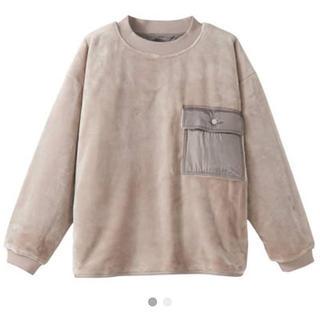 ムジルシリョウヒン(MUJI (無印良品))のmuji labo 無印良品 ムジラボ 着る毛布(スウェット)