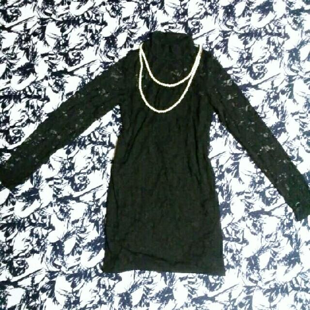 DURAS(デュラス)のデュラス定価8000円セクシードレス レディースのフォーマル/ドレス(ミディアムドレス)の商品写真