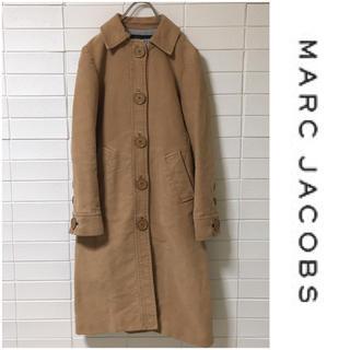 マークジェイコブス(MARC JACOBS)のマークジェイコブス コットン ステンカラー ロングコート キャメル 4(ロングコート)