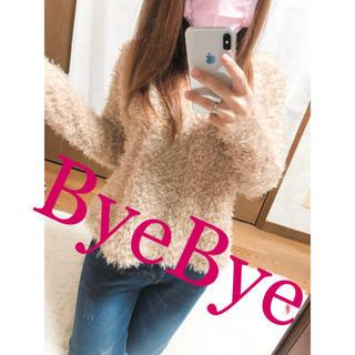 バイバイ(ByeBye)の266.ByeBye シャギーニット ミニ丈☆(ニット/セーター)