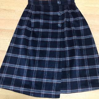 ハニーズ(HONEYS)の冬用スカート 暖か サイズM 膝丈スカート(ひざ丈スカート)