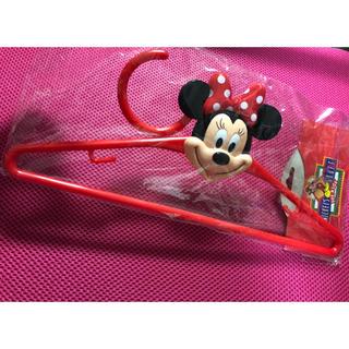 ディズニー(Disney)のミニーちゃん  ハンガー(押し入れ収納/ハンガー)