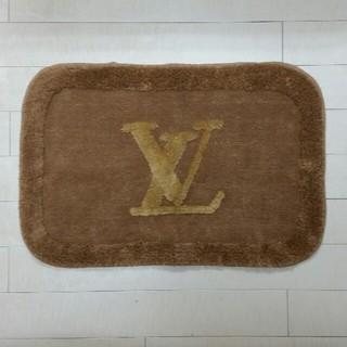 ルイヴィトン(LOUIS VUITTON)のLVロゴ玄関マット(玄関マット)