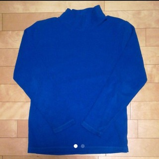 ジーユー(GU)のGU フリース 150 タートルネック ハイネック(Tシャツ/カットソー)