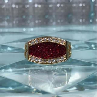 1点物 AAAランク ダイヤモンドcz 21号 リング 指輪 ゴールド(リング(指輪))