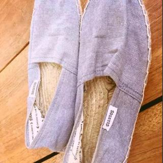 ソルドス(SOLUDOS)の美品‼︎SOLUDOS ソルドス エスパドリーユ サンダル 23cm(スリッポン/モカシン)