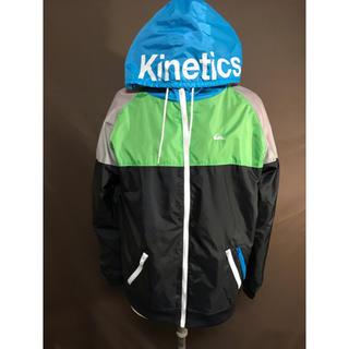 キネティックス(kinetics)のKinetics×Quik silver  ナイロン ジップアップパーカ(ナイロンジャケット)