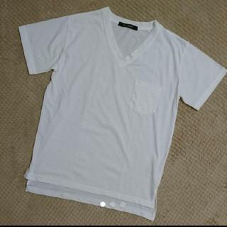 ヴァンスエクスチェンジ(VENCE EXCHANGE)のヴァンスエクスチェンジ Tシャツ 白(Tシャツ(半袖/袖なし))