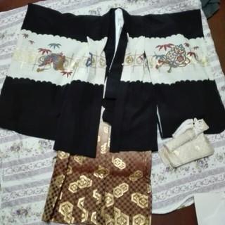 さくら様専用       七五三 袴、羽織セット 男の子(和服/着物)