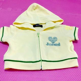 ジェニィ(JENNI)のジェニィ パーカー 100 フード 黄色 (ジャケット/上着)